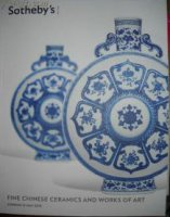 Sotheby's Fine Chinese Ceramics And Works of Art 2013