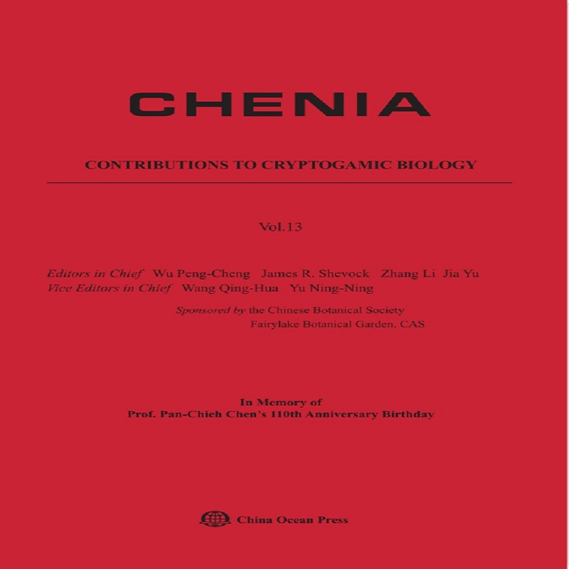 CHENIA-Contributions to Cryptogamic Biology Vol.13